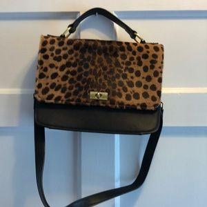 J Crew Leopard Handbag